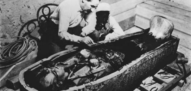 من مكتشف مقبرة توت عنخ آمون