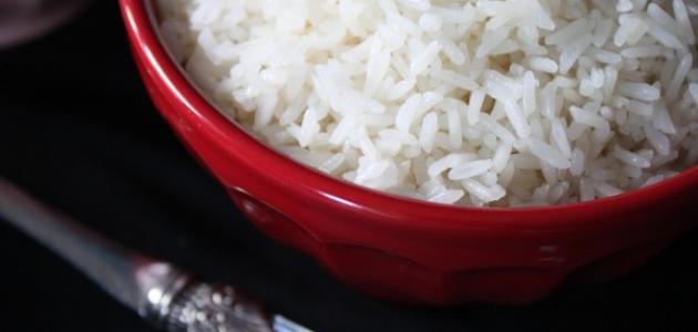 كيفية عمل الأرز الأبيض