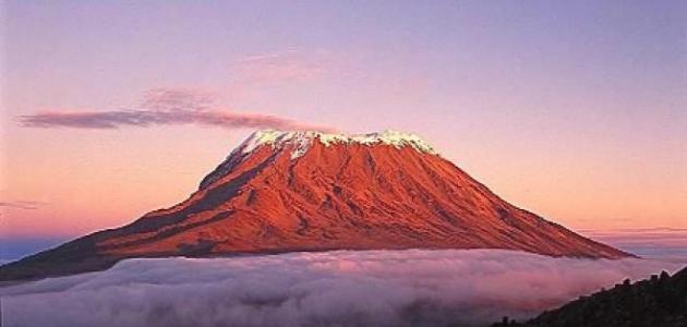 ماذا يسمى آخر الجبل