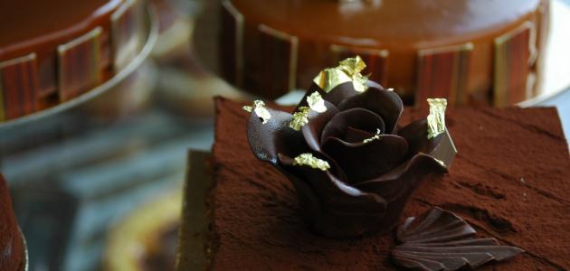 طريقة كيك الشوكولاته