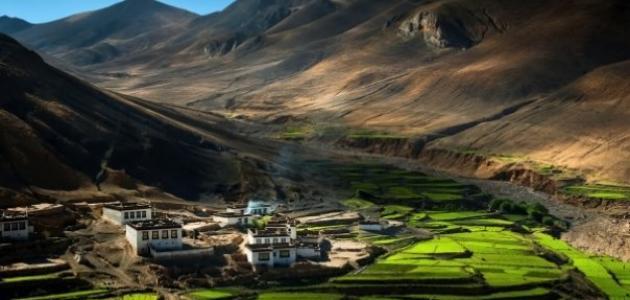 أين تقع التبت - موضوع