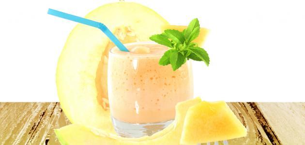 فوائد عصير الشمام