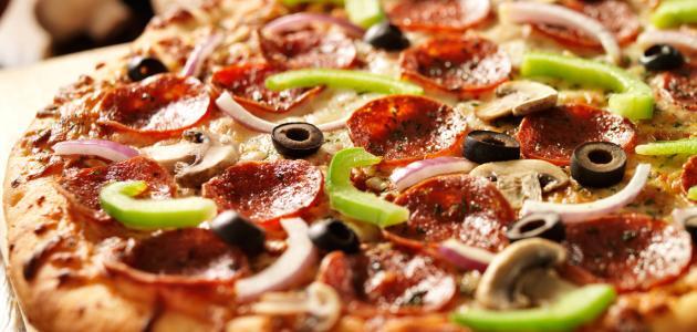 طريقة بيتزا سريعة