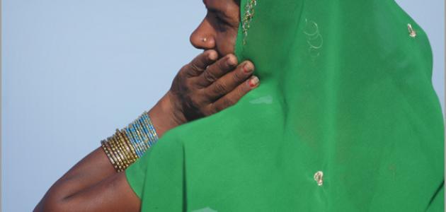 طريقة خياطة الساري الهندي