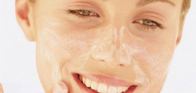 طريقة تشقير الوجه