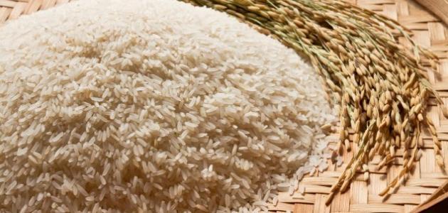 فوائد الأرز الأبيض