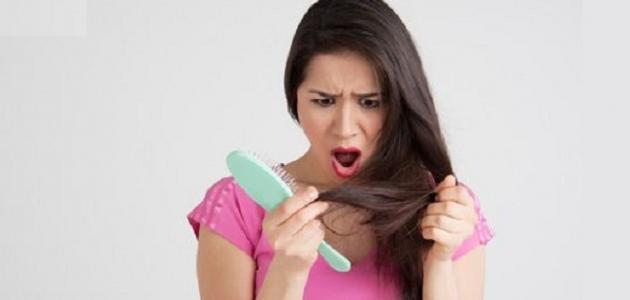 طريقة علاج تساقط الشعر