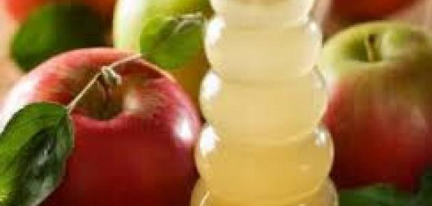 طريقة تحضير خل التفاح