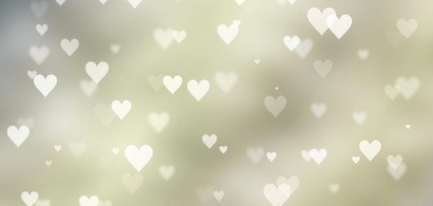 كلام حب وغرام