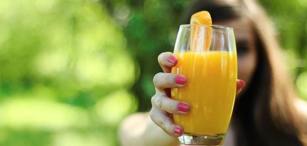 فوائد عصير البرتقال للبشرة