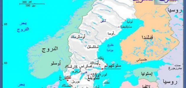 أين توجد السويد
