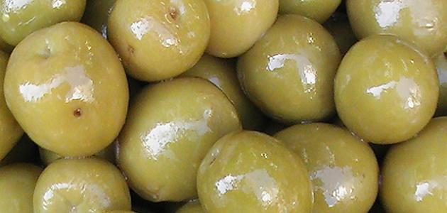 طريقة كبس الزيتون الأخضر