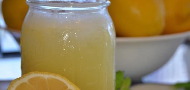 فوائد شرب الليمون