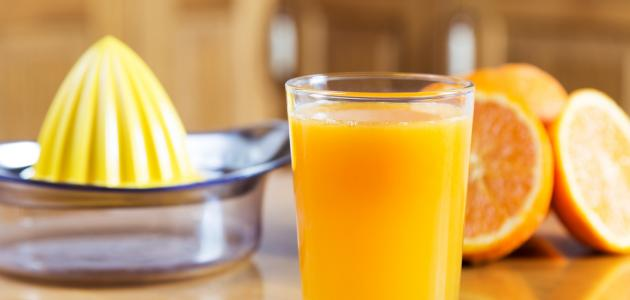 فوائد عصير البرتقال
