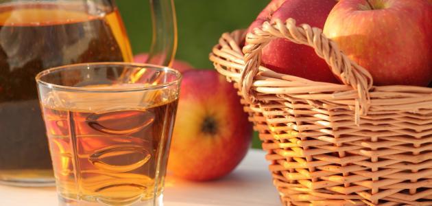 طريقة عمل عصير التفاح