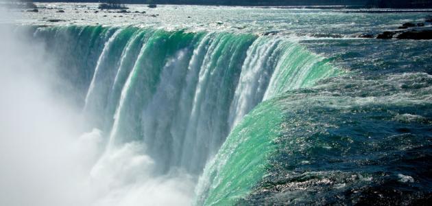 أين تقع شلالات نياجرا في كندا