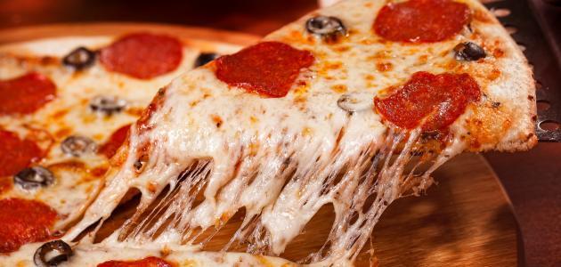 طرق عمل البيتزا