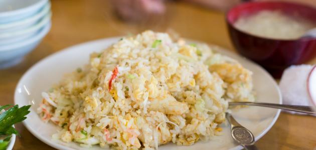 طريقة عمل الرز الصيني