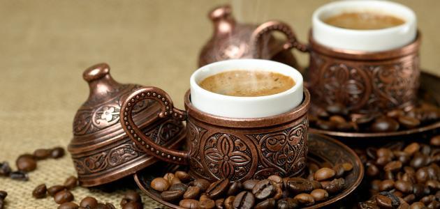 طريقة عمل قهوة تركية موضوع
