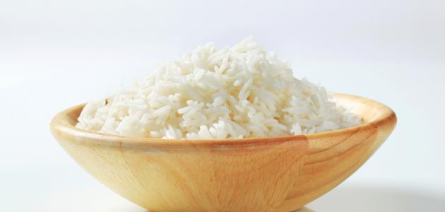 طريقة طهي الأرز الأبيض