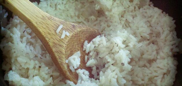 طرق عمل الأرز