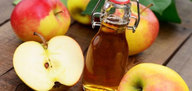 طريقة صنع خل التفاح