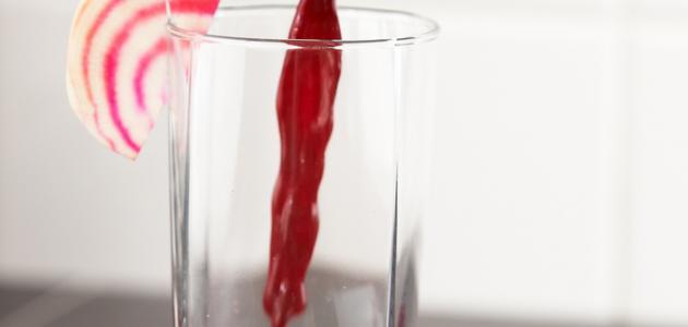 فوائد عصير الشمندر