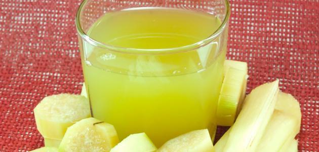 فوائد عصير قصب السكر