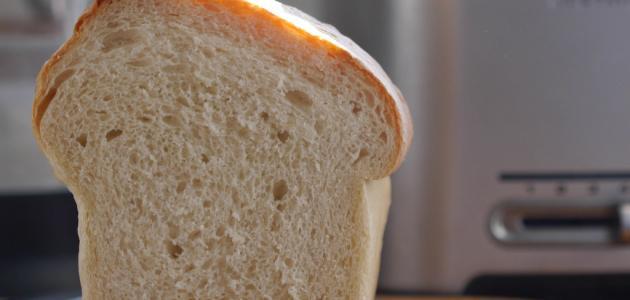 طريقة خبز التوست