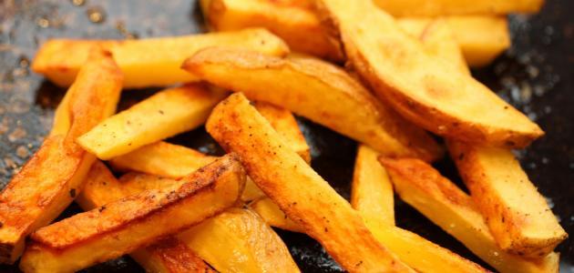 طريقة قلي البطاطس - موضوع