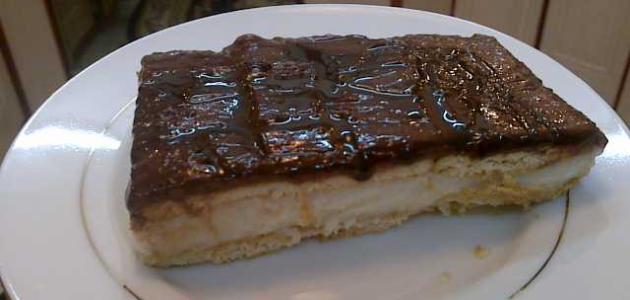 طريقة عمل طبقات البسكويت بالشوكولاتة