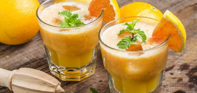 طريقة تحضير عصير البرتقال