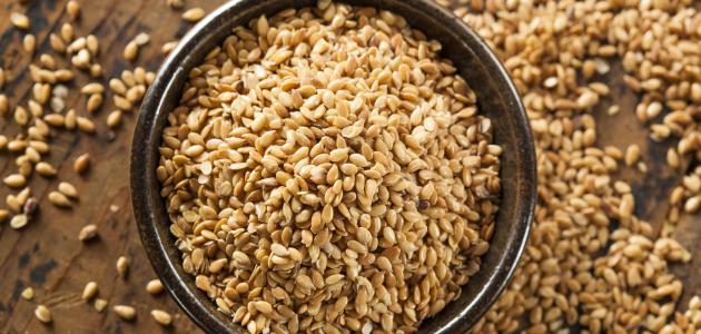 فوائد بذرة الكتان لإنقاص الوزن