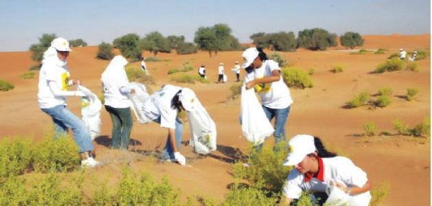 أهمية العمل التطوعي موضوع