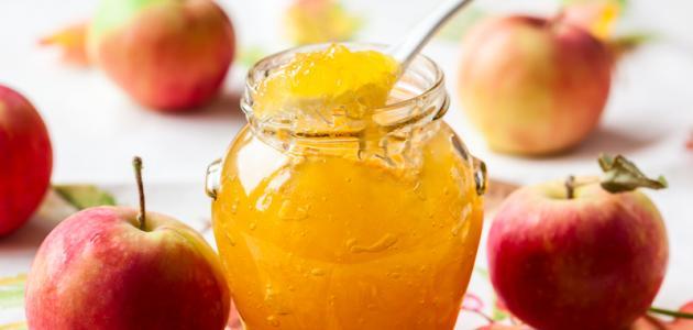 طريقة صنع مربى التفاح