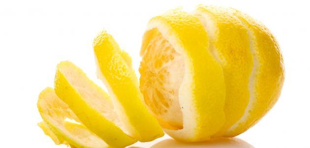فوائد قشر الليمون للبشرة