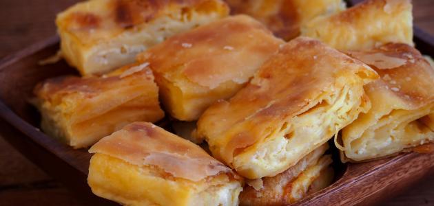 طريقة عمل فطائر الجبن