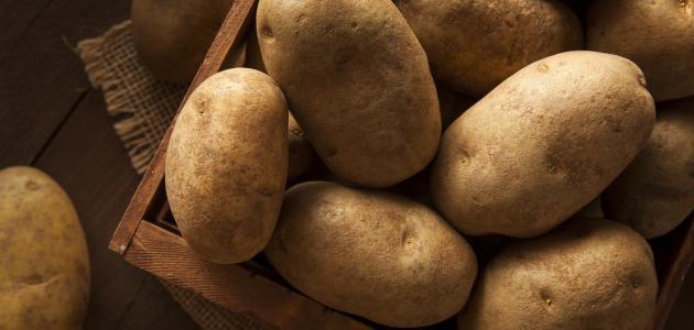 طريقة تخزين البطاطا