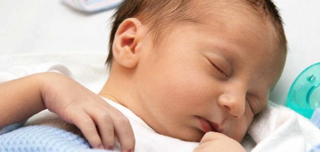 مراحل تطور الرضيع