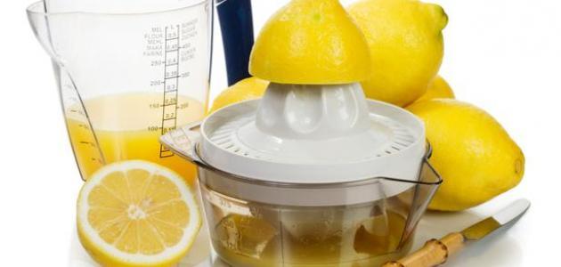 فوائد عصير الليمون للرجيم