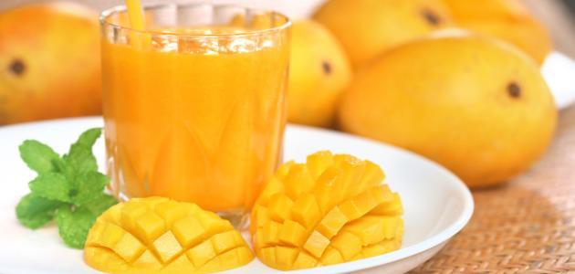 فوائد عصير المنجا