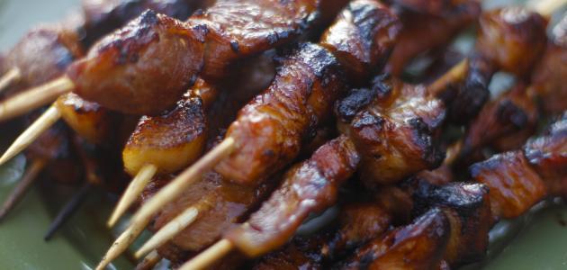 طريقة تتبيل اللحم للشوي