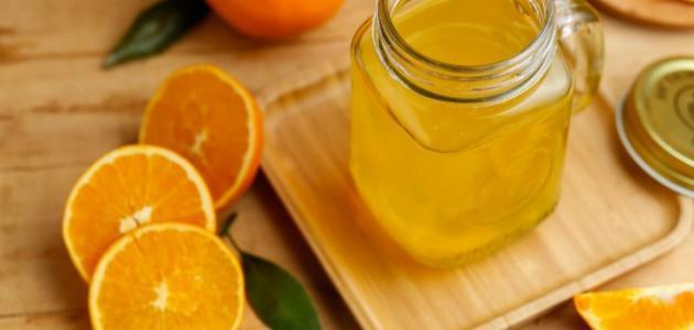 طريقة حفظ عصير البرتقال