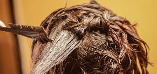 طريقة وضع الحنة على الشعر