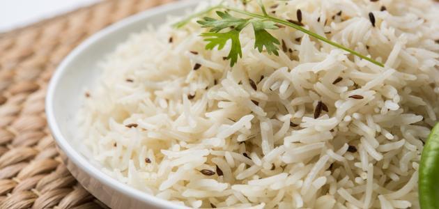 طريقة سلق الأرز
