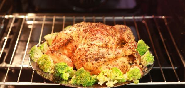 طريقة تحضير الدجاج في الفرن