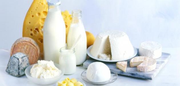 فوائد الحليب ومشتقاته