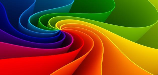 طريقة دمج الألوان