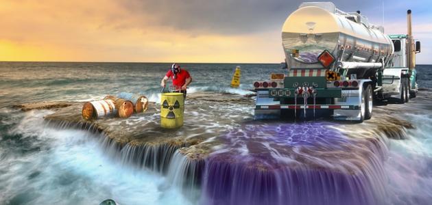 أسباب تلوث البحار