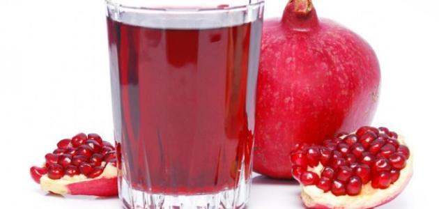 فوائد عصير الرمان للبشرة